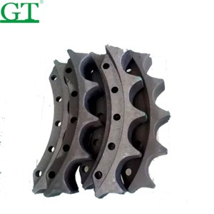 D375 bulldozer parts segment group OEM no.195-27-33111 5PCS N.W:165KG In Stock