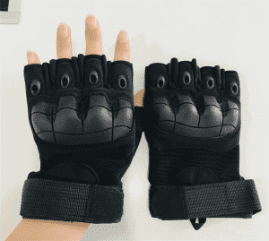 Half-finger multi-function glove