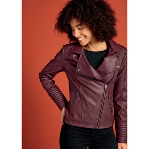 Ladies Biker Jacket PU