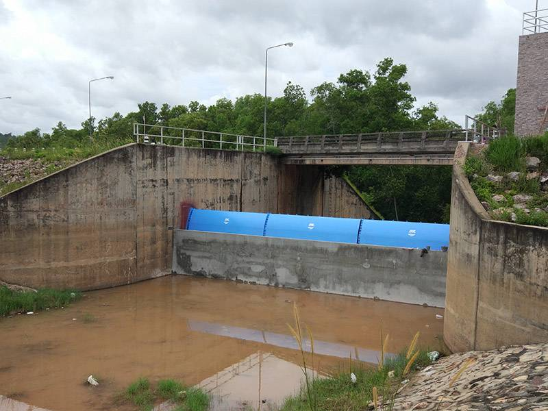 Sadao Hydraulic Elevator Dam Project Featured Image