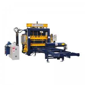Used Brick Making Machine For Sale - Automatic Hollow Block Making Machine QM10-15 – Shifeng