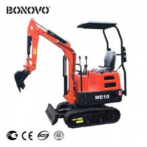 Cheapest Factory John Deere 50g Excavator For Sale - Mini Excavator  1 Ton – ME10 – Bonovo