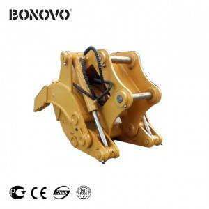 HYDRAULIC UNROTARY GRAPPLE