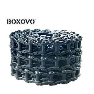 Bonovo undercarriage spare parts track chain for hitachi ex200-1 track link