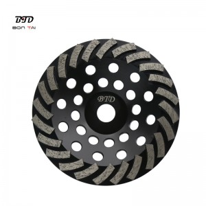 7 Inch 24Seg.Turbo Abrasive Wheels Diamond Grin...