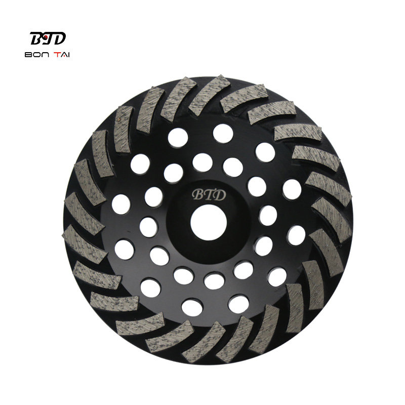 7 Inch 24Seg.Turbo Abrasive Wheels Diamond Grinding Cup Wheel for Concrete Featured Image