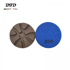 2021 latest design 3″ dry use diamond polishing pads for concrete and terrazzo