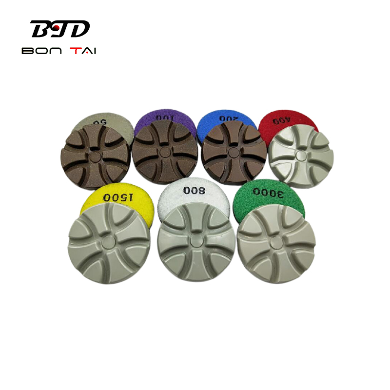 2021 latest design 3″ dry use diamond polishing pads for concrete and terrazzo Featured Image
