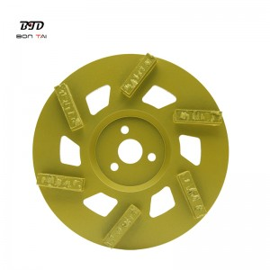 180mm Spilit PCD Diamond Floor Grinding Disc