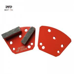 Trapezoid Metal bond diamond tools concrete floor grinding stones