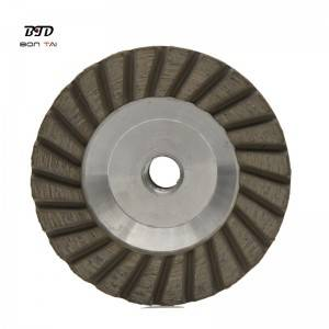 4 Inch Aluminum Diamond Grinding Cup Wheels For Stone