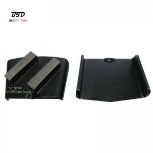 Double bar HTC diamond grinding plate