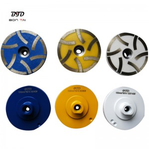 4″ Resin Filled Diamond Grinding Wheel for Stone