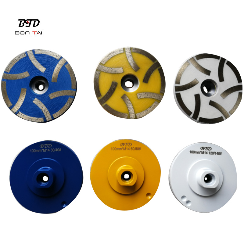 4″ Resin Filled Diamond Grinding Wheel for Stone Featured Image