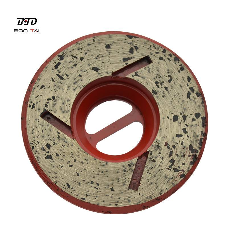 4″ Snail-lock Diamond Edge Grinding Wheels for stone Featured Image