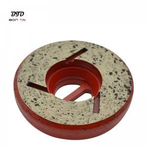 4″ Snail-lock Diamond Edge Grinding Wheels for stone
