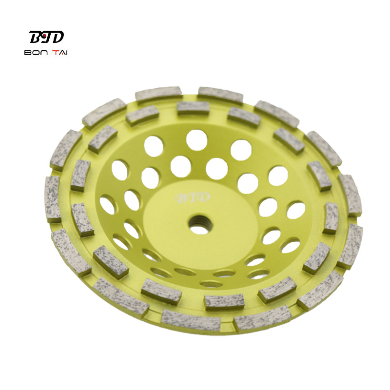 7 Inch Double Row Diamond Grinding Cup Wheels for Angle Grinder Featured Image