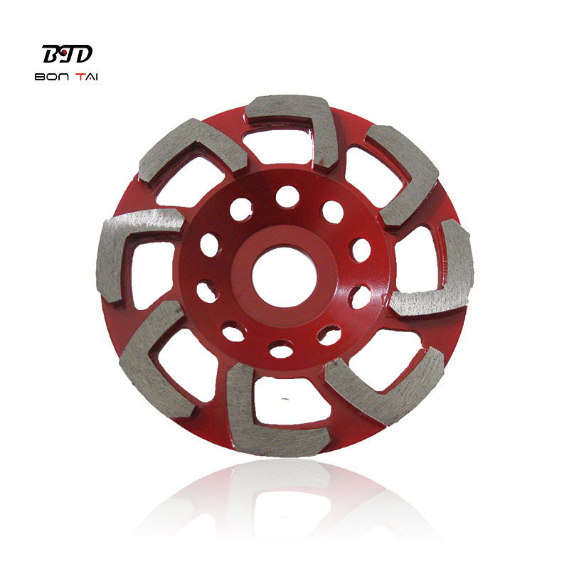 L Shape Abrasive Diamond Grinding Cup Wheels for Concrete Featured Image