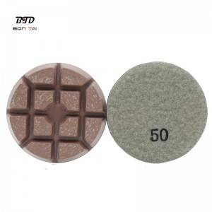"3""Concrete Floor Polishing Hybrid pad"
