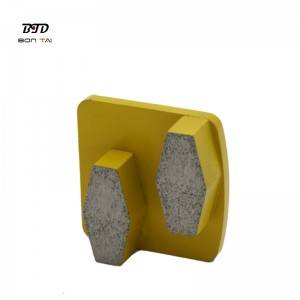 Redi-Lock two segments concrete floor diamond grinding shoes