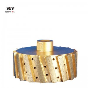 Metal segmented diamond zero tolerance grinding wheels
