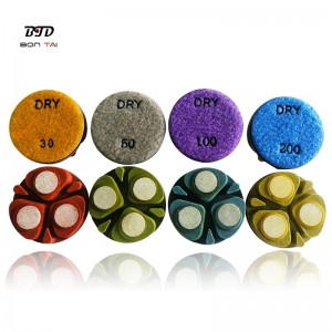 New design ceramic bond diamond polishing pucks 3inch 4inch for concrete