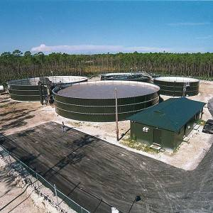 Waste Treatment Tank