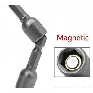 Pneumatic magnetic nut, hexagonal  strong nuts, magnetic nuts,wind drill nuts