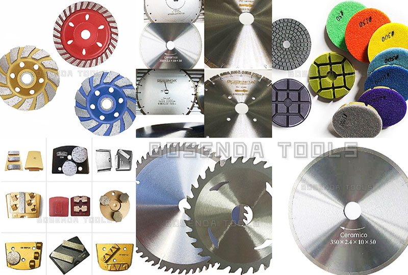 The characteristics and classification of the cutting blade/cutting disc, the scope of use of the cutting blade.