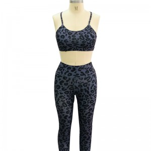 Breathable Convenient To Wear Ladies Gym Yoga Suit Activewear
