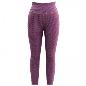 Stretchy Fabric Complete Coverage Non See-Through Womens Sport Yoga Set