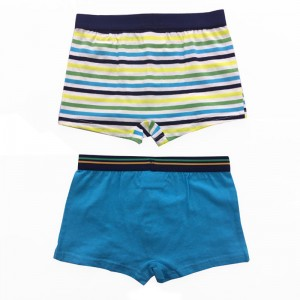 Quick Dry Eco Friendly Cotton Anti Bacterial Children Briefs For Little Boys