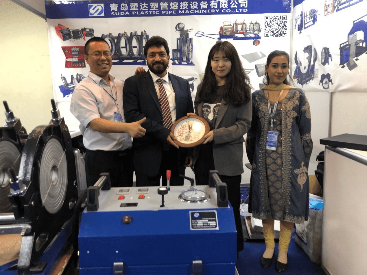 Suda Plastic Pipe Machinery Show at 2019 PAK WATER&ENERGY EXPO