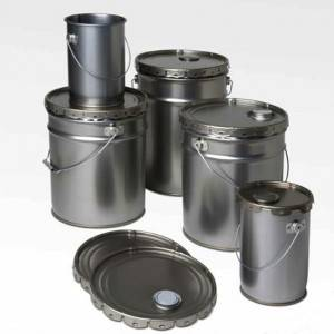 Custom 20Liters Paint Tin pails – Leak-proof tin buckets