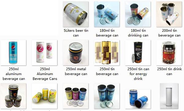 3-piece metal tinplate can for packaging Drink & Beverage1