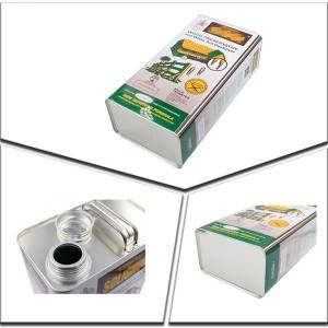 5Liters metal tin can for packaging white ant destoryer