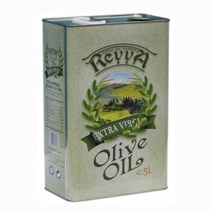 5Liter metal tin can for packaging olive oil