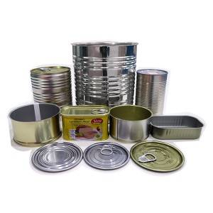 Canned Food Tin Can(3-piece)-Easy open can