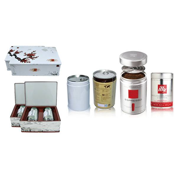 Hermetically Sealed Tea and Coffee Tin Cans Featured Image