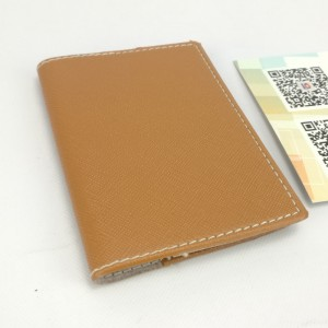 Pocket name card holder business case ID Credit case folder wallet for business office school daily use for men women