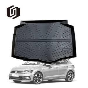 TPE CAR TRUNK MAT FOR VOLKSWAGEN POLO