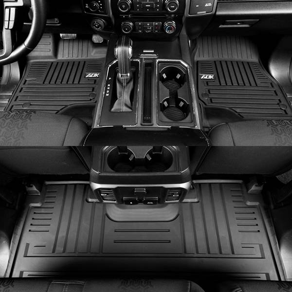 TPE CAR FLOOR MAT FOR TOYOTA FORD F150 2015+ Featured Image