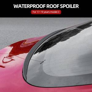 REAR WINDOW HYDROFOIL FOR TESLA MODEL 3