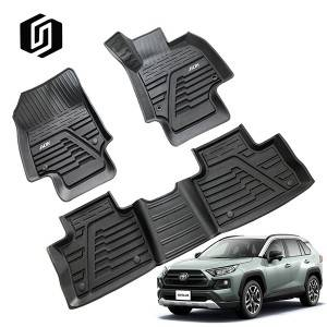 TPE CAR FLOOR MAT FOR TOYOTA RAV4 2019+