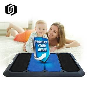 HOT SALE HOUSEHOLD TPE ENTRANCE NON-SLIP DISINFECTION FLOOR MAT