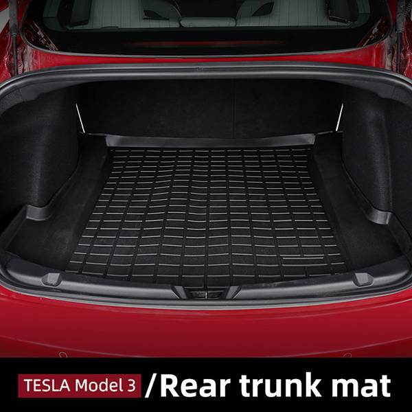 TPE CAR TRUNK MAT FOR TESLA MODEL 3 Featured Image