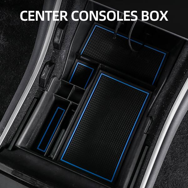 CENTRAL CONTROL STORAGE BOX FOR TESLA MODEL 3 2019+ Featured Image