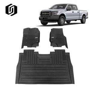 TPE CAR FLOOR MAT FOR TOYOTA FORD F150 2015+
