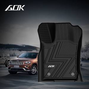 TPE CAR FLOOR MAT FOR JEEP GRAND CHEROKEE 2013+