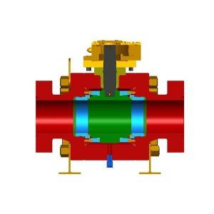 Metal Two-Piece Floating Ball Valve